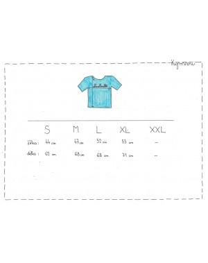 Tabulka velikostí - rozměry
