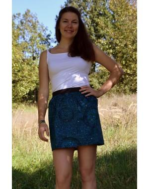 Sukně Modrá mozaika