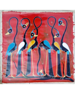 Obraz Šest pávů