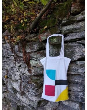 Recyklo taška bílá
