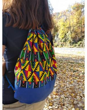 Africký baťůžek - indiánská...