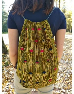Africký baťůžek - žlutý