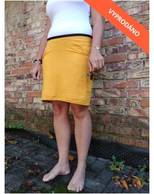 Žlutá sukně